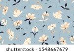 beautiful trendy flower pattern.... | Shutterstock .eps vector #1548667679