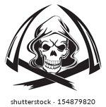 tattoo design of a grim reaper...
