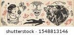 noir film. true elderly... | Shutterstock .eps vector #1548813146