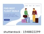 find best deals landing page... | Shutterstock .eps vector #1548822299