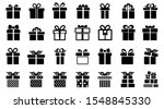 gift set different icon sign  ...