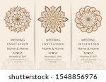 wedding invitation cards... | Shutterstock .eps vector #1548856976