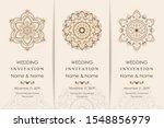 wedding invitation cards... | Shutterstock .eps vector #1548856979