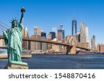 Statue Of Liberty With...