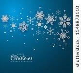 retro simple christmas card... | Shutterstock .eps vector #1548873110