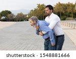 Man Doing The Heimlich Maneuver ...