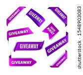 giveaway tags or labels for... | Shutterstock .eps vector #1548903083