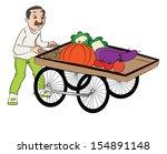 vector illustration of vendor... | Shutterstock .eps vector #154891148