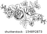 lined design vector  with of... | Shutterstock .eps vector #154892873