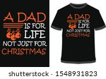 a dad is for life not just for... | Shutterstock .eps vector #1548931823