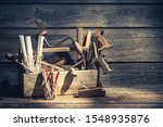 Carpenter Working Tools In A...