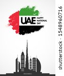 happy national day uae. united...   Shutterstock .eps vector #1548960716