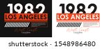 los angeles athletic typography ... | Shutterstock .eps vector #1548986480