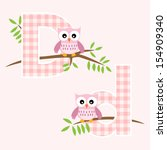 Alphabet For Baby Girl With Owl ...
