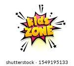 kids zone isometric comics text ...   Shutterstock .eps vector #1549195133