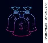 cash bags nolan icon. simple...