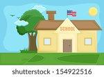 School   Cartoon Background...