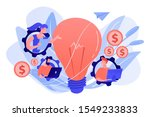 business people in gears with... | Shutterstock .eps vector #1549233833