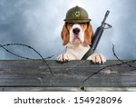 The Sentry Dog In A Helmet Ver...