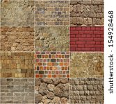 Backgrounds Of A Stone Wall