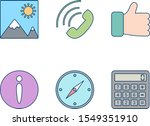 icon set of basic ui for...