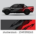 truck decal graphic wrap vector ... | Shutterstock .eps vector #1549398263