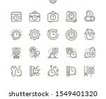 working hours well crafted...   Shutterstock .eps vector #1549401320