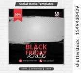 template post for social media  ... | Shutterstock .eps vector #1549430429