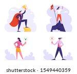 business success and politics... | Shutterstock .eps vector #1549440359