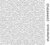 vintage seamless pattern ... | Shutterstock .eps vector #1549495910