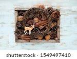Cute Deer Toy  Cones  Nuts ...