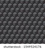 seamless 3d vector geometric...   Shutterstock .eps vector #1549524176