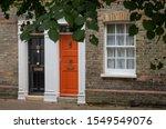 Frontdoor Of English Mansion In ...