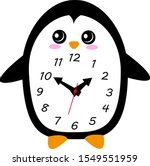 Cute And Funny Analog Penguin...