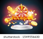 the word jackpot  surrounded by ... | Shutterstock .eps vector #1549556630