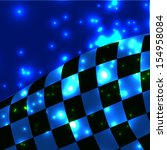 vector checkered background.... | Shutterstock .eps vector #154958084