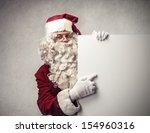 Santa Claus Shows Billboard