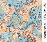 botanical seamless pattern....   Shutterstock .eps vector #1549624223
