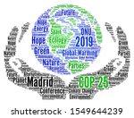 Cop 25 In Madrid  Spain Word...