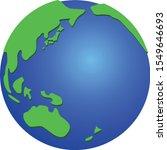 illustration of earth on the... | Shutterstock .eps vector #1549646693