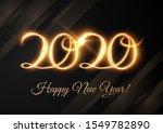 2020 new year shiny vector... | Shutterstock .eps vector #1549782890