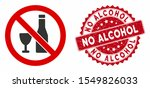 vector no alcohol icon and... | Shutterstock .eps vector #1549826033