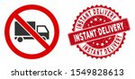 vector no cargo delivery icon... | Shutterstock .eps vector #1549828613