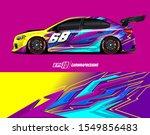 race car wrap decal designs....   Shutterstock .eps vector #1549856483