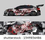 race car wrap decal designs....   Shutterstock .eps vector #1549856486
