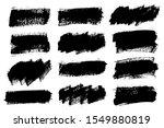 brush strokes. vector... | Shutterstock .eps vector #1549880819