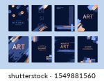 abstract invitation hand drawn...   Shutterstock .eps vector #1549881560