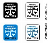 iso iec 17025 testing and... | Shutterstock .eps vector #1549888913