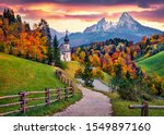 Iconic picture of bavaria with...