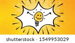 speech bubble light lamps lamp...   Shutterstock .eps vector #1549953029